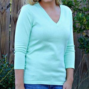 NWT 525 America Cameron Sweater, Mint